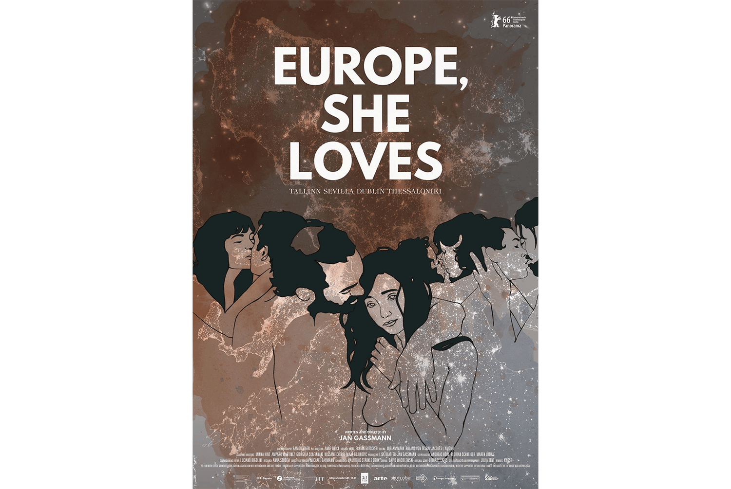 Image of EUROPE, SHE LOVES - DVD MULTILANGUAGE WITH EXTRAS
