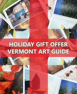 Image of FOR THE HOLIDAYS: <i>Vermont Art Guide</i> Year One Gift Pack