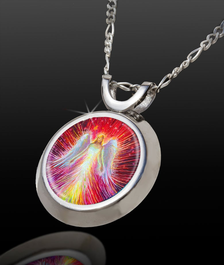 Image of Angel Of New Hope Positive Energy Pendant