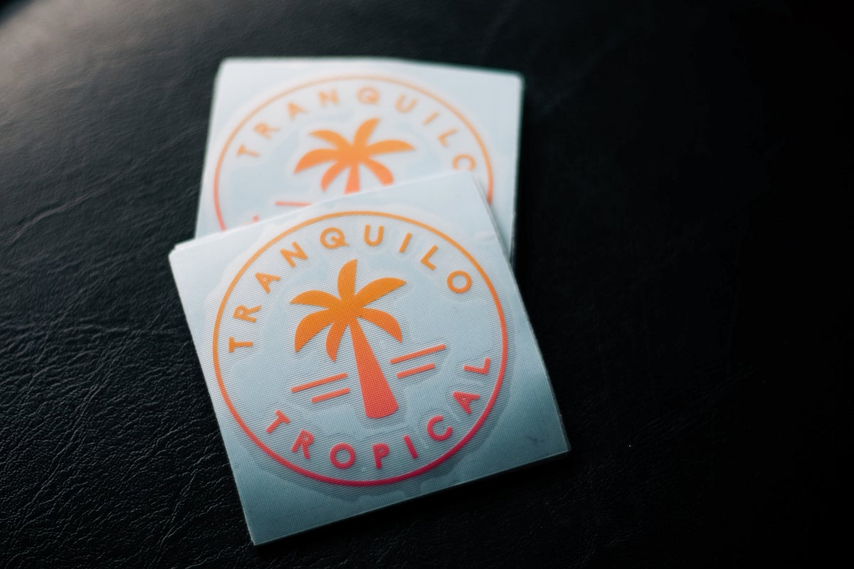 Image of Tranquilo//Tropical Badge MRCC Fade
