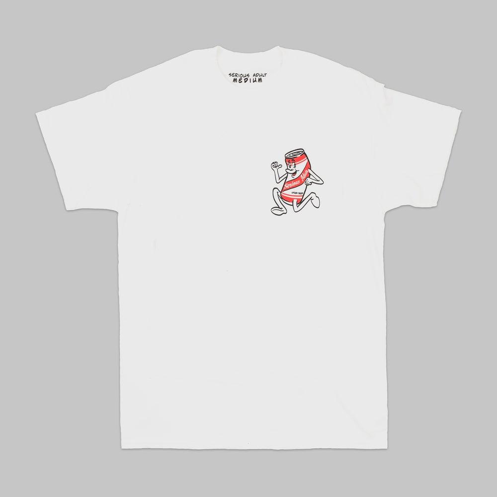 Image of 'serious stripe' Tee shirt