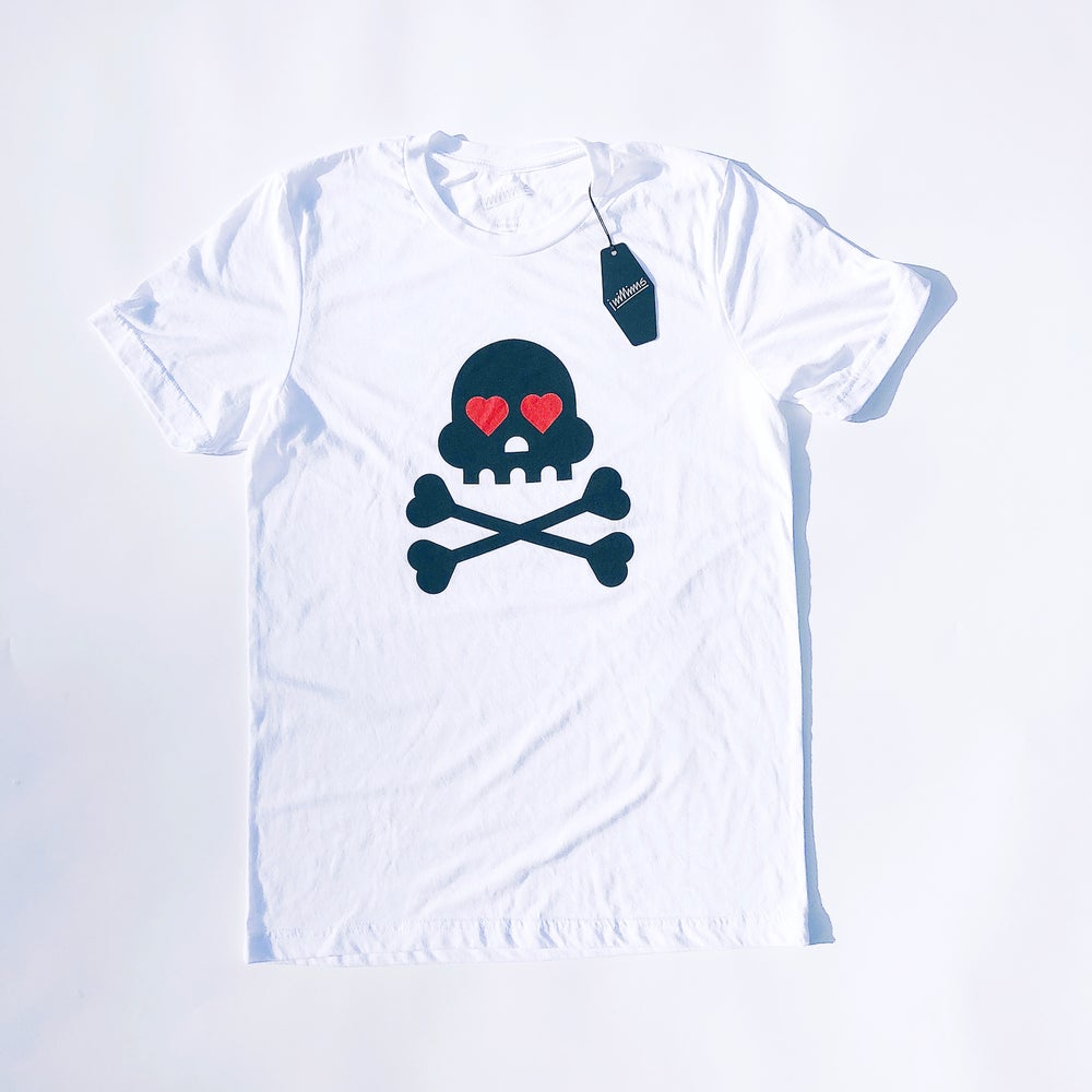 Image of ❤️ YOU TO DEATH | White Tri-blend