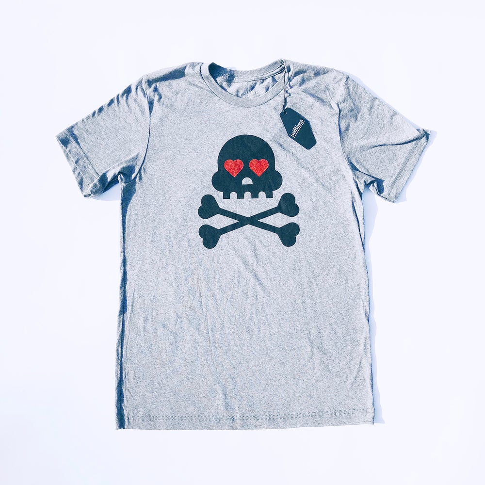 Image of ❤️ YOU TO DEATH | Gray Tri-blend
