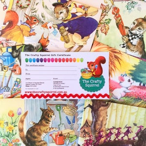 Image of The Crafty Squirrel Gift Certificate