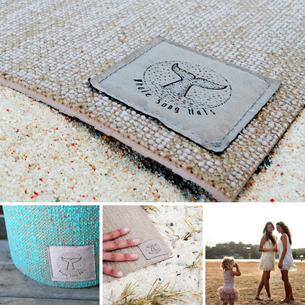 Image of Special! Whale Song Yoga Mat - SOLD OUT