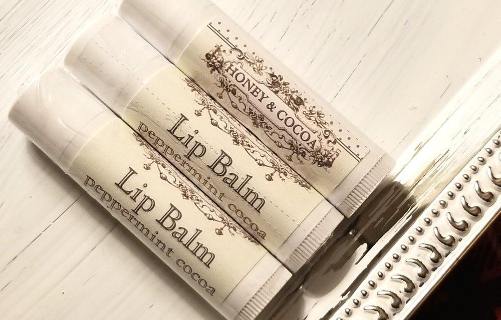 Image of Peppermint Cocoa - Lip Balm ( 3 )