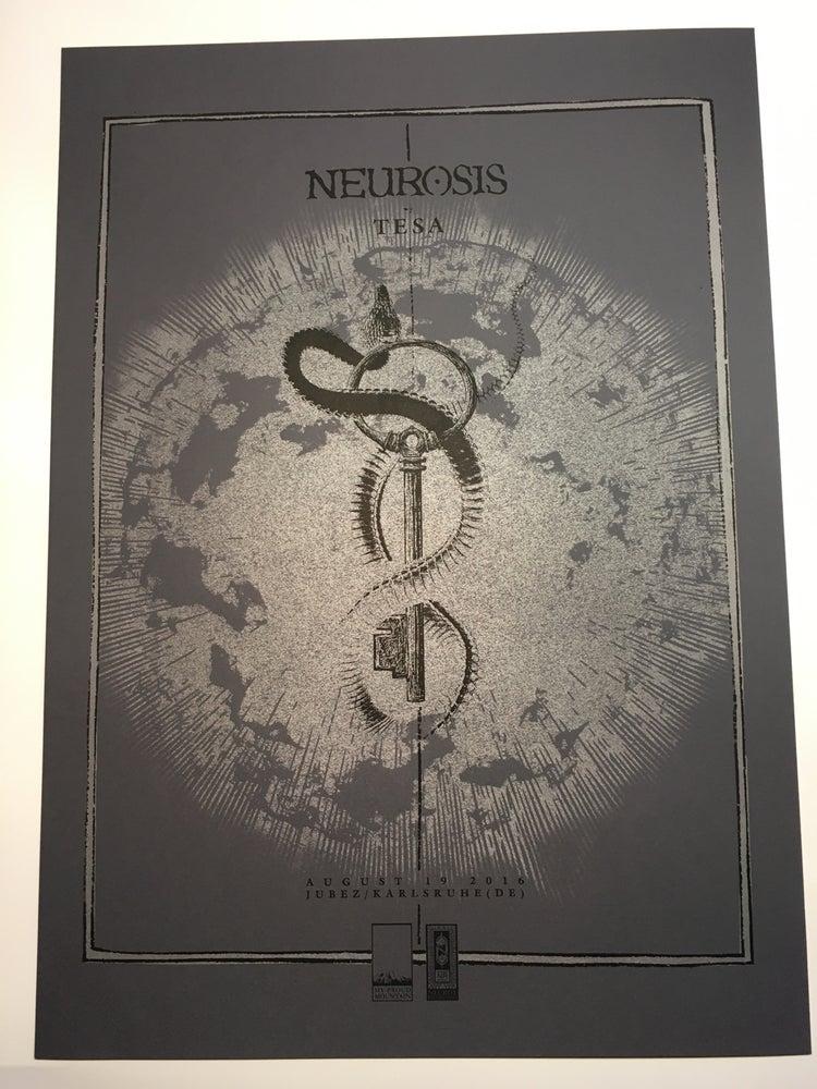 Image of NEUROSIS 08.19.16 Karlsruhe Show posters