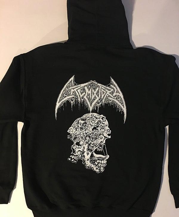 """Image of Crematory """" Requiem Of The Dead """" Hooded Sweatshirt"""
