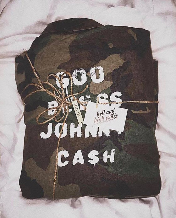 Image of Johnny Upcycled Women's Camo Jacket