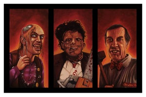 Image of TEXAS CHAINSAW 2 FAMILY TRIPTYCH