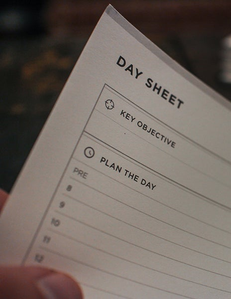 Image of Wild + Free Day Sheets