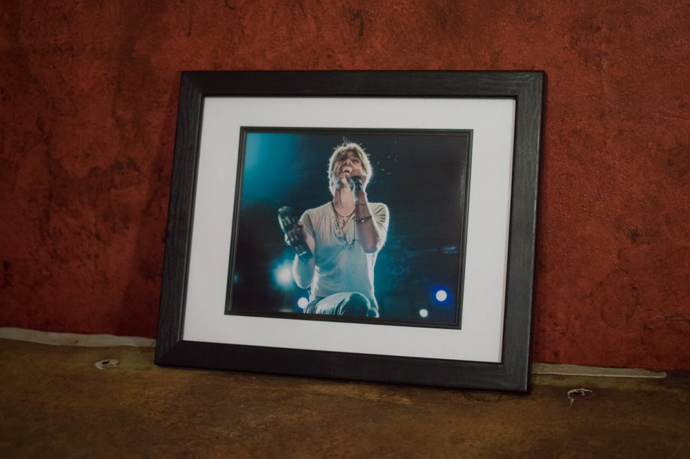 Image of Taylor Hanson 8x10 framed print