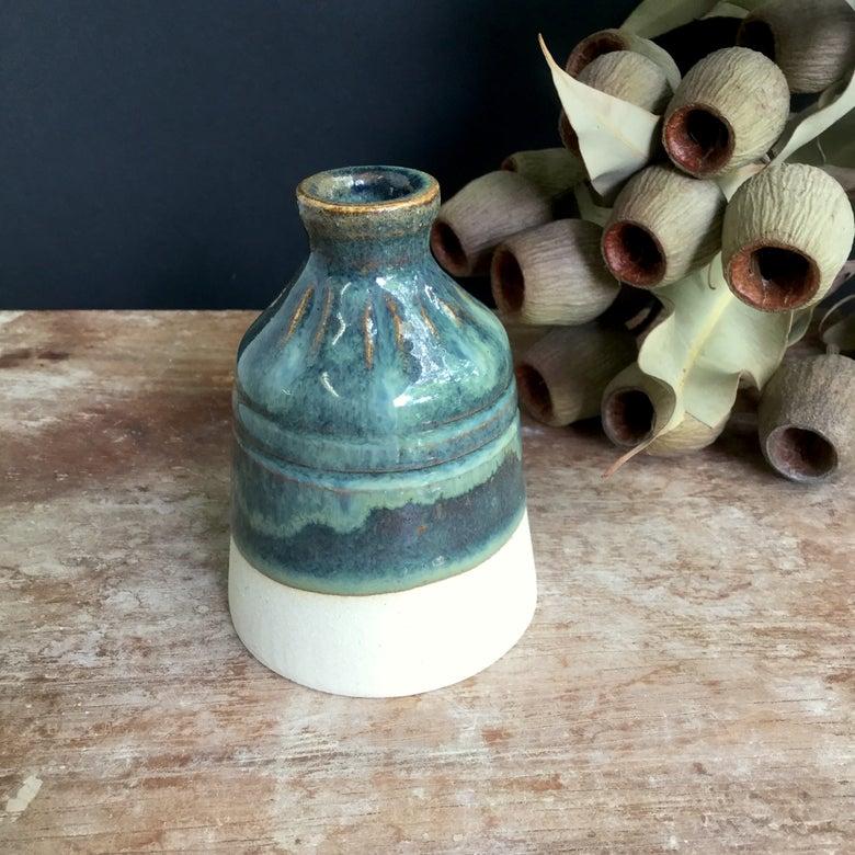 Image of Blue-grey bottle