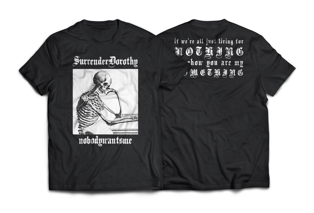 """Image of SURRENDERDOROTHY """"NOBODYWANTSME"""" short sleeve"""