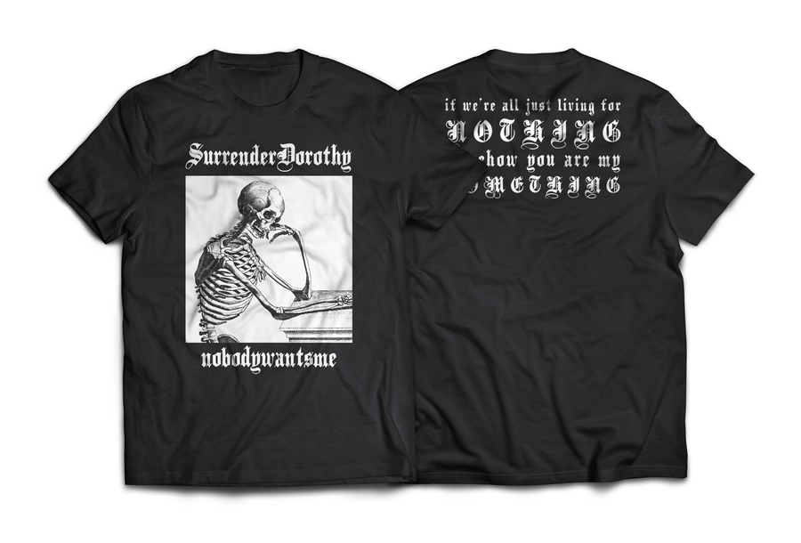 "Image of SURRENDERDOROTHY ""NOBODYWANTSME"" short sleeve"