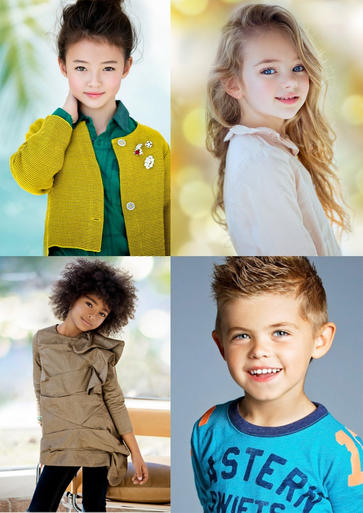 Image of KIDS (1-12 y.o.) MODEL/ACTOR 2 LOOKS SESSION DEPOSIT