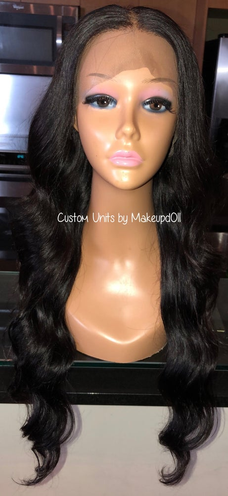 """Image of Indian Natural Wave 26"""" Lace Frontal Wig!"""