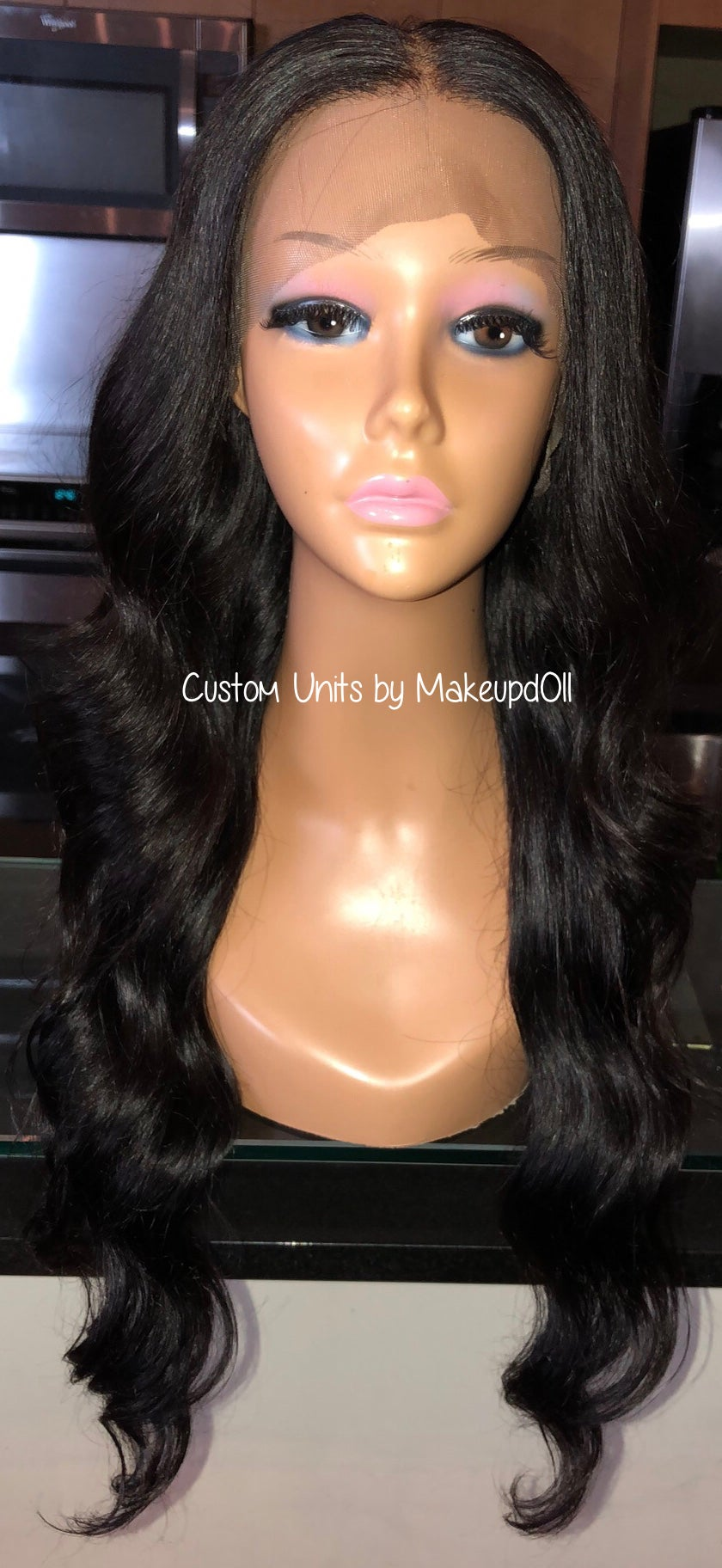 "Image of Indian Natural Wave 26"" Lace Frontal Wig!"