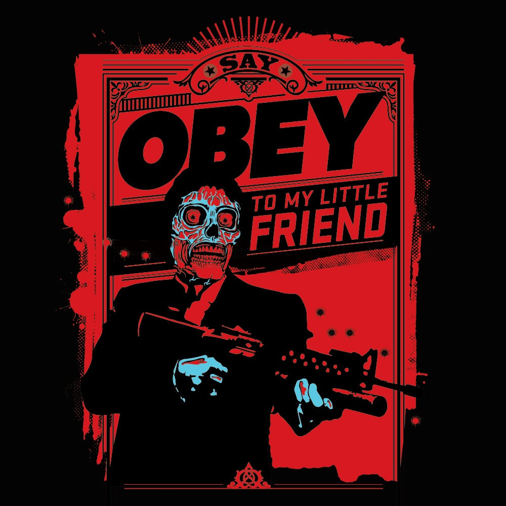 Image of Say Obey to my Little Friend