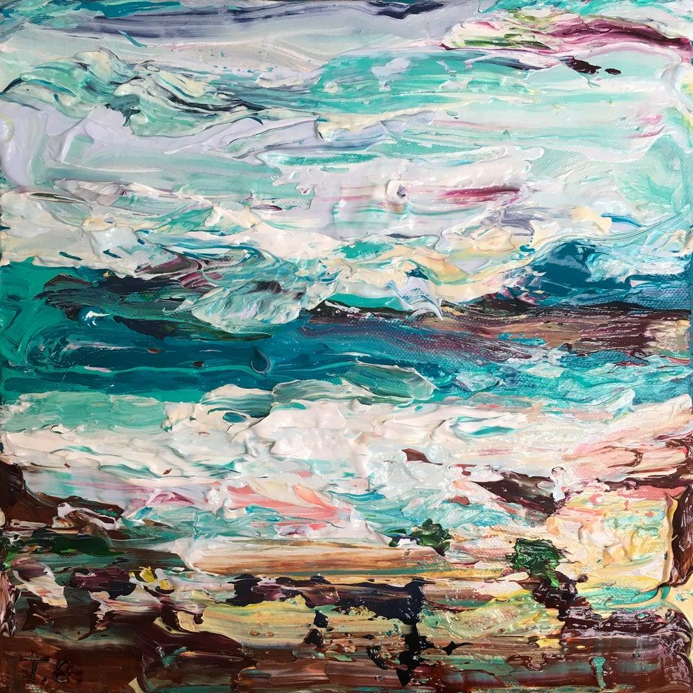 Image of Coastal no.28 - 30x30cm