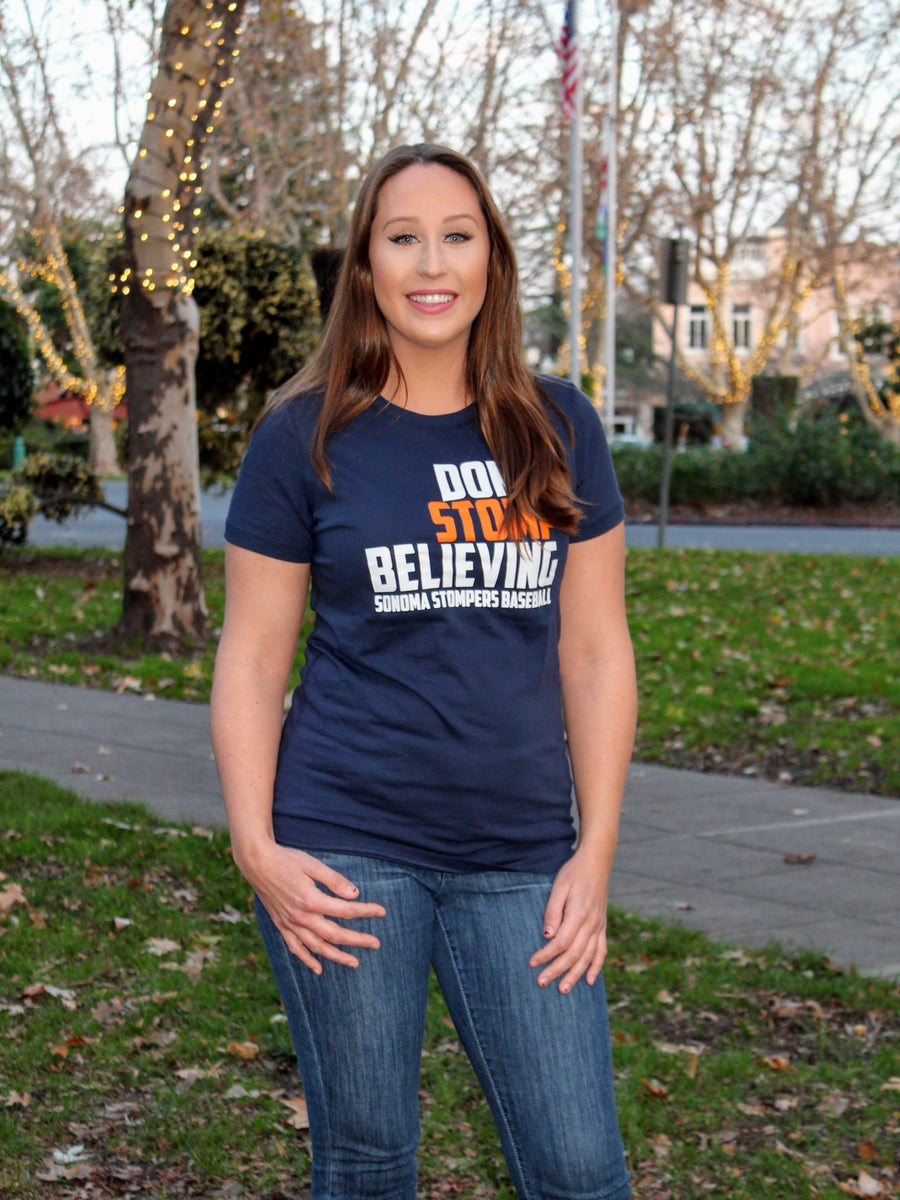 Image of Don't Stomp Believing Tee (Women's)