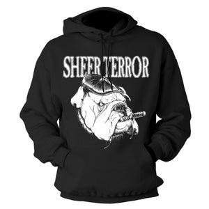 """Image of SHEER TERROR """"Bulldog Style"""" Hoodie"""