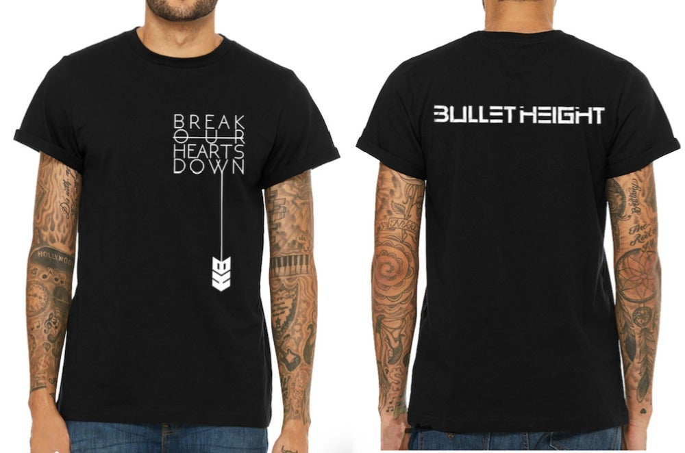 """Image of """"Break our Hearts Down"""" Unisex Tee"""