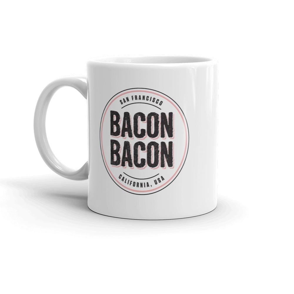 Image of Bacon Bacon Logo Coffee Mug