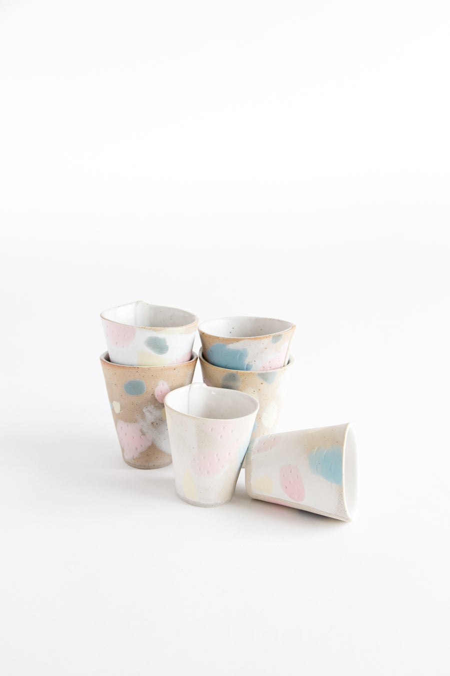Image of Pastel Primary Tumblers