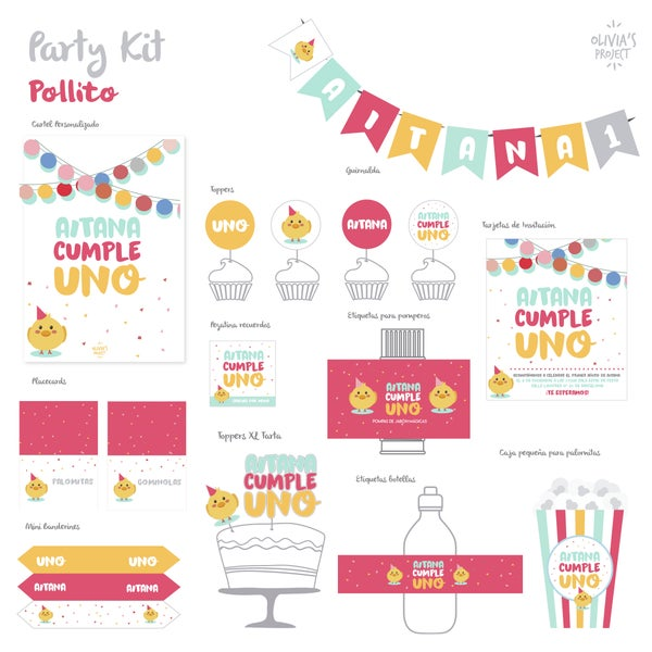 Image of Party Kit Pollito