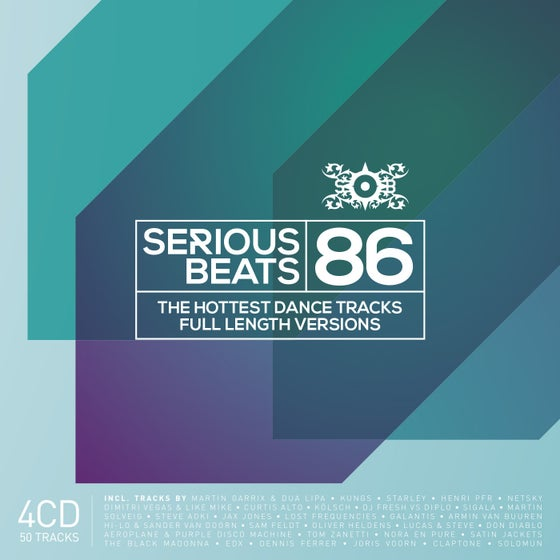 Image of VARIOUS ARTISTS -  SERIOUS BEATS 86 (4CD)