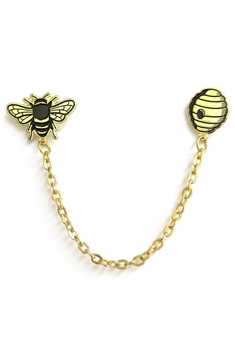 Image of BEE & HIVE COLLAR CHAIN