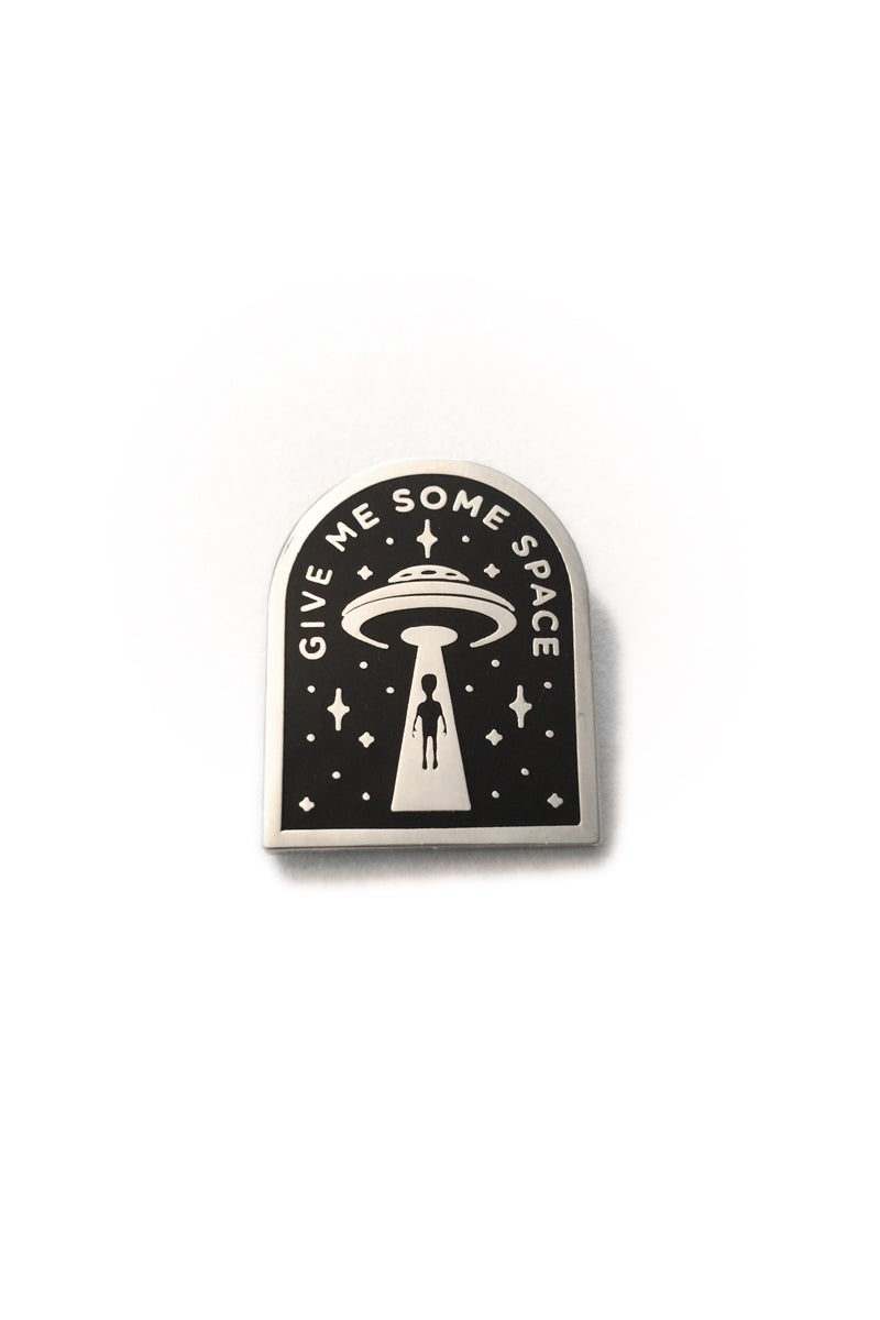 Image of GIVE ME SOME SPACE PIN