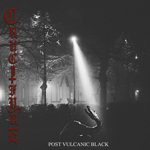 "Image of CRUCIFYRE ""Post Vulcanic Black"" Gatefold Double LP"