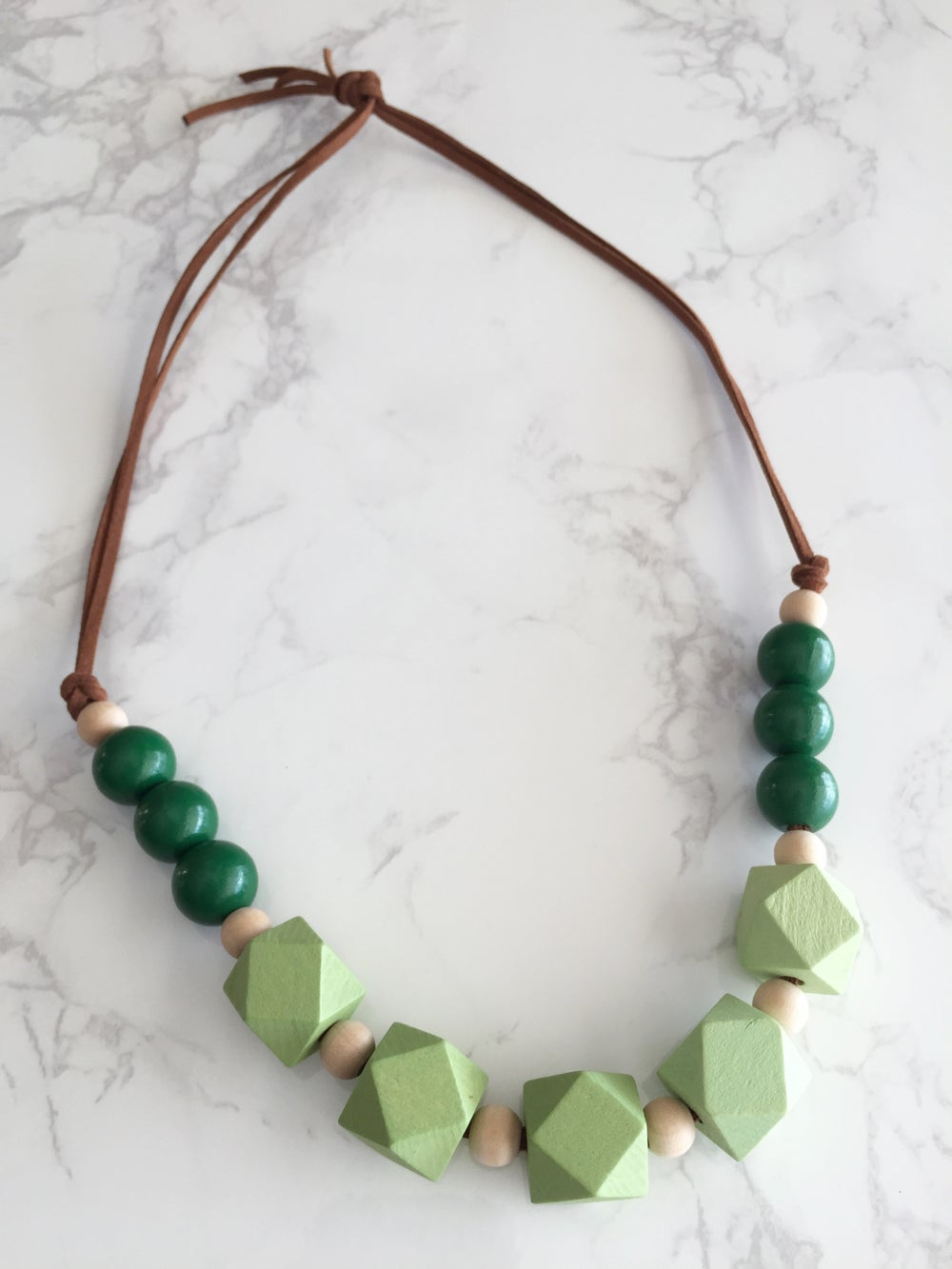 Image of Beaded Necklace No. 17