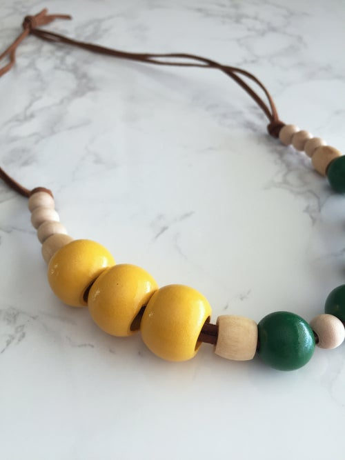 Image of Beaded Necklace No. 19
