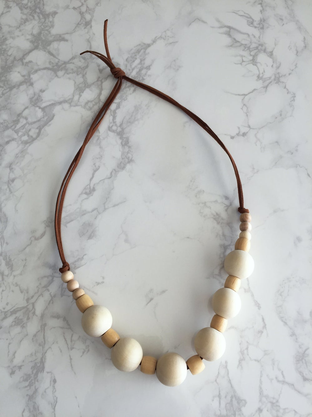 Image of Beaded Necklace No. 21