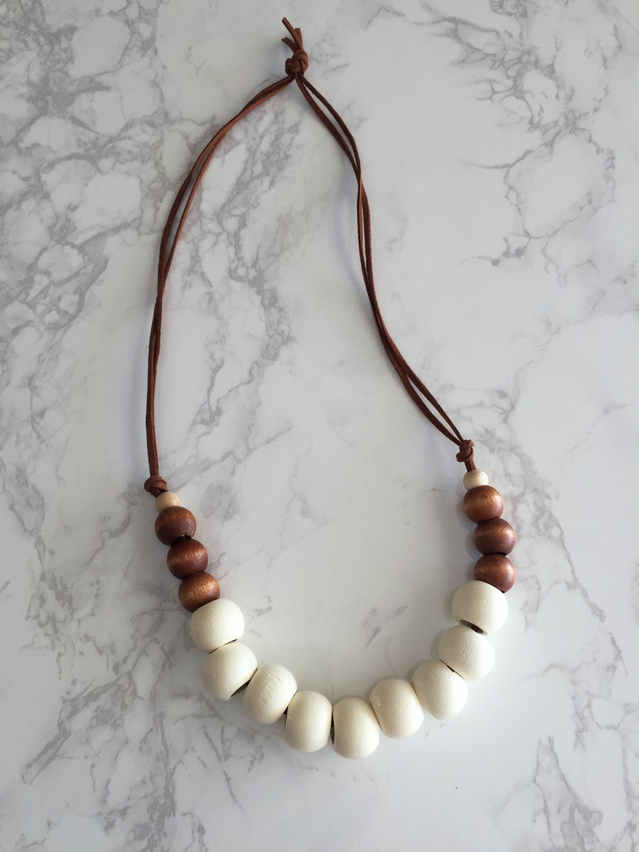 Image of Beaded Necklace No. 22