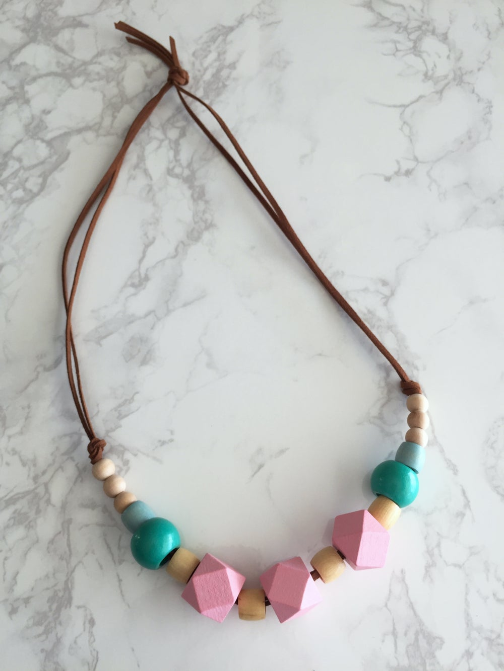 Image of Beaded Necklace No. 23