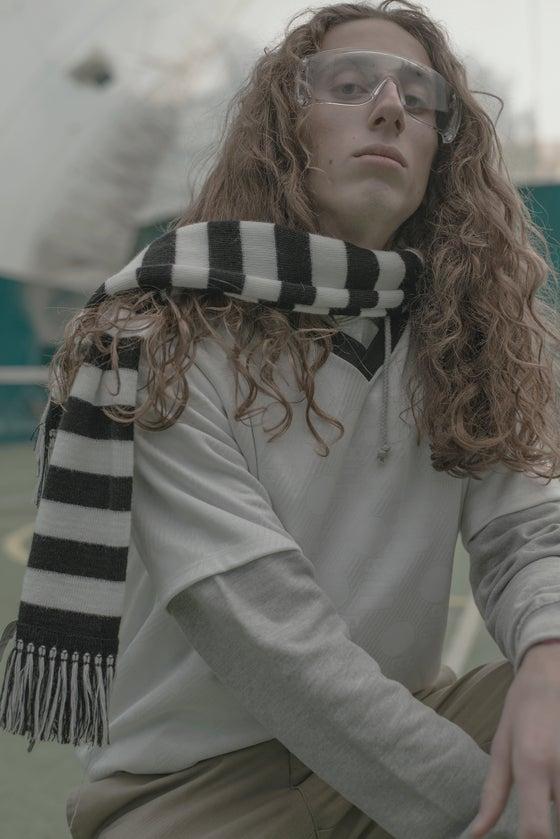 """Image of Football Tee """"ITALIA 90's"""" - White & Black"""