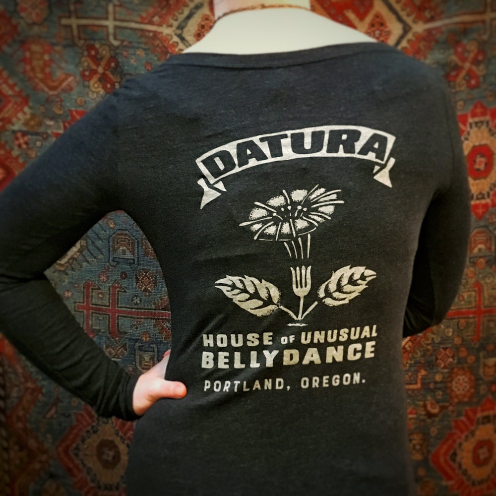 "Image of ""Datura Match"" Long-sleeved Tee"