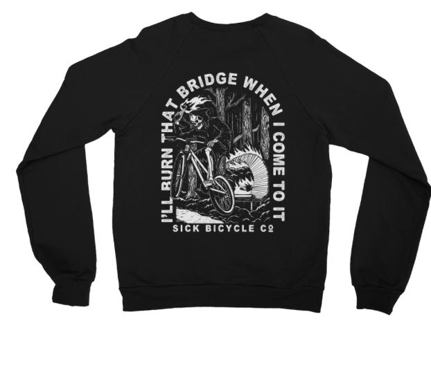 Image of Burning Bridges Sweater