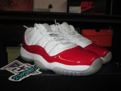 """Air Jordan XI (11) Retro Low """"White/Varsity Red"""" GS - areaGS - KIDS SIZE ONLY"""