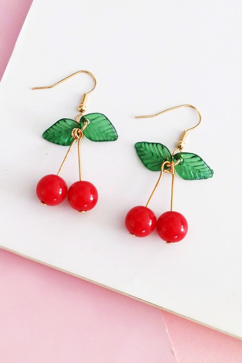Image of CHERRY BABY EARRINGS