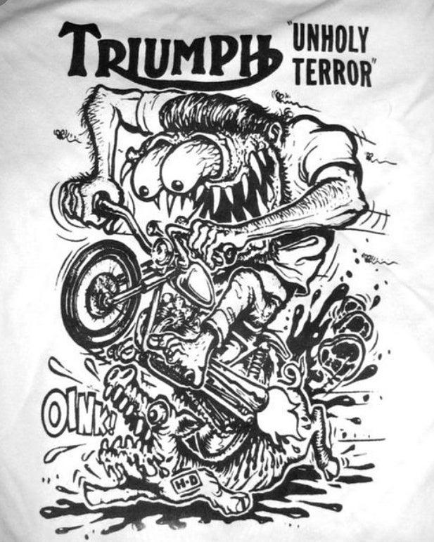 Image of Triumph Unholy Terror Tee