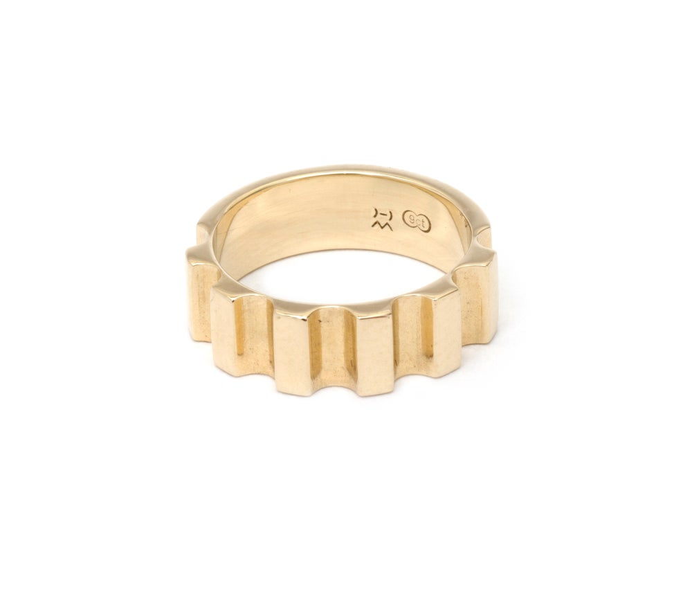 Image of Parmentier Signet ring - 9ct Yellow gold
