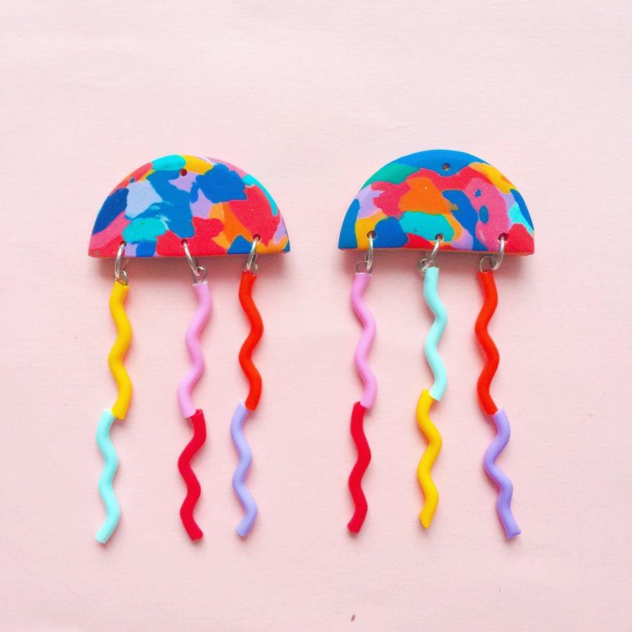 Image of Technicolor rainbow jellies