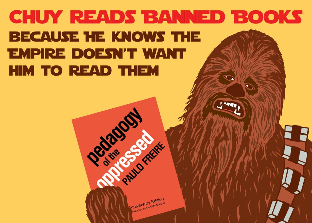 Image of Chuy Reads Banned Books Postcard Set