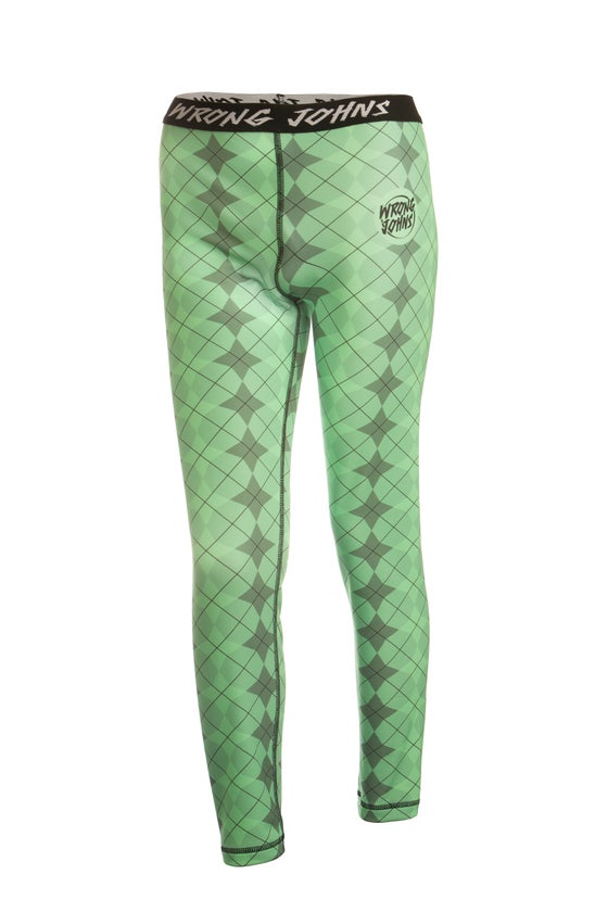 Image of Mens Green Jester Thermal Bottoms