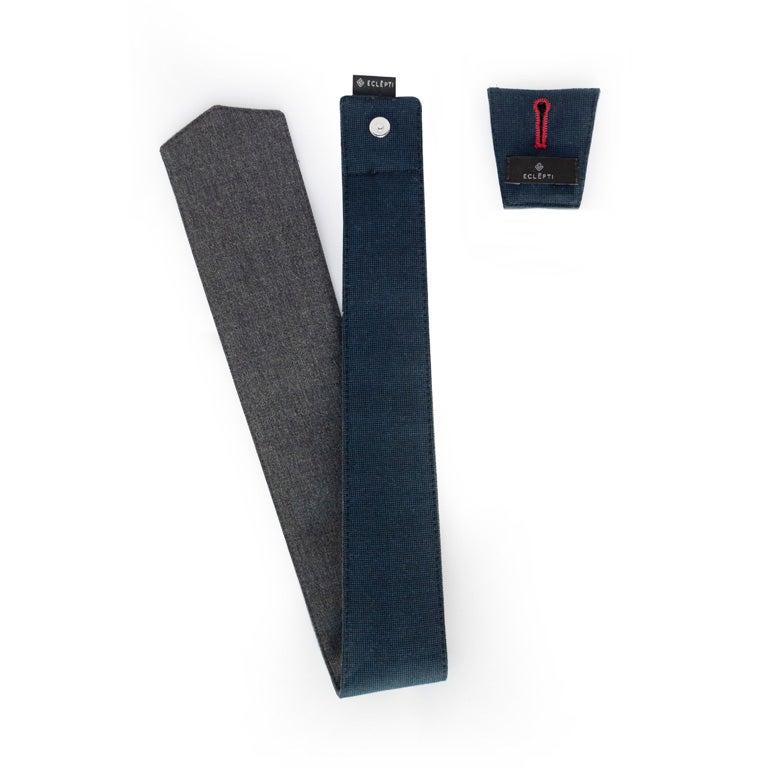 Image of Grey & Blue Wool